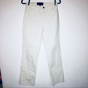 [NYDJ Not Your Daughter's] White Blue Jeans - 4P